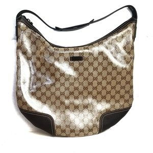 Authentic GUCCI Crystal Large Princy Hobo Bag